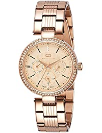 Gio Collection Analog Rose Gold Dial Women's Watch-G2024-44
