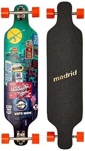 Madrid Longboard Dream 39 Zoll Billboard Standard bunt Einheitsgröße, 817956018306