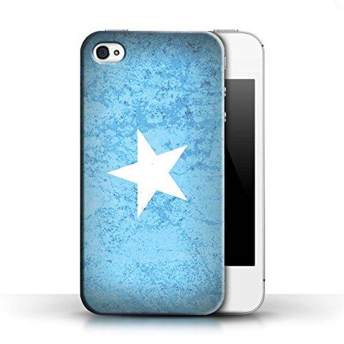 Coque de Stuff4 / Coque pour Apple iPhone 6S / Tunisie/Tunisien Design / Drapeau Africain Collection Somalie/Somali