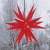 Melchior outdoor II rot, Außenstern inkl. Außenkabel / Außensterne