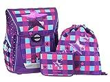 baggymax Schulranzen-Set Fabby 3-tlg Pink Star bm pink star