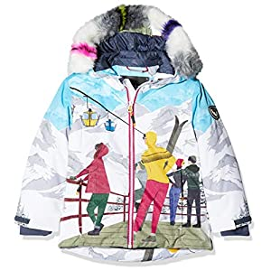 CMP Mädchen Wattierte 5000 Twill Eco Fur Skijacke