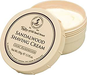 Taylor Of Old Bond Street Sandalwood Shaving Cream Bowl - 150Gm