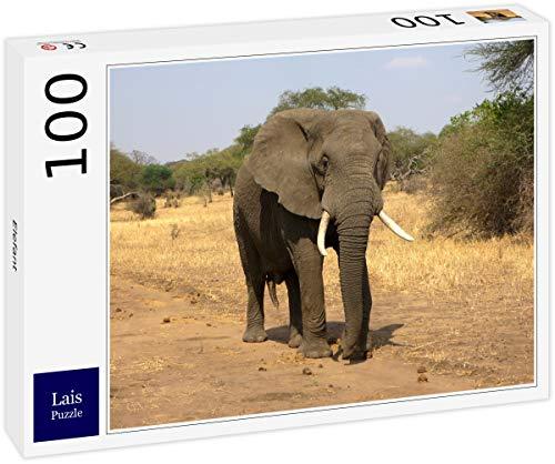 Lais Puzzle Elefante 100 Piezas