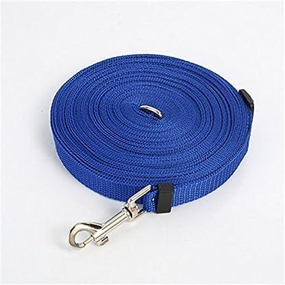 Katomi Dog Pet Puppy Training Obedience Lead Leash (1.8m*2cm, blue) 1