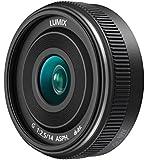 Panasonic H-H014AE-K Micro Four Thirds 14mm Single Focal Length Lens - Black