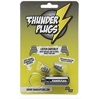 Tapones para los oídos Thunderplugs TPB1 con funda de transporte - gris