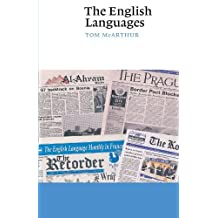 The English Languages (Canto) by Tom McArthur (1998-04-13)