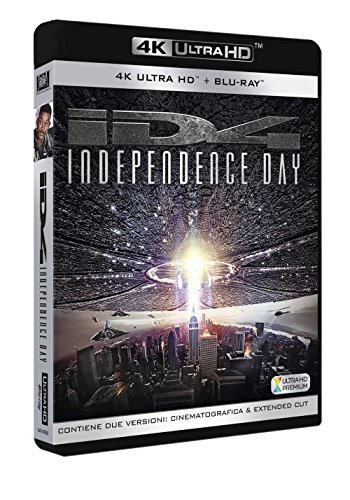 independence day uhd (4k ultra hd + blu-ray) [Italia] [Blu-ray]