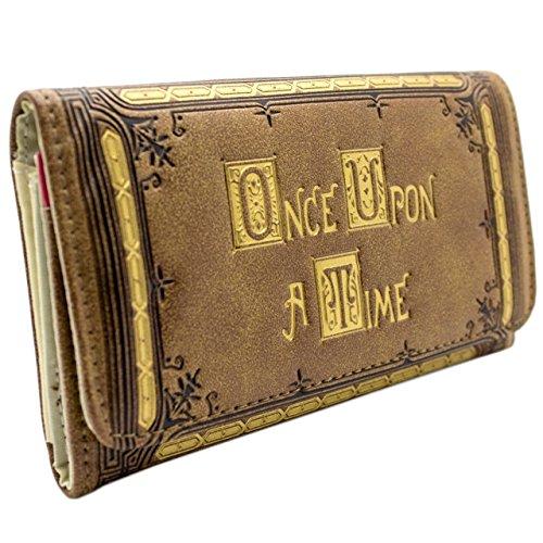 abc-once-upon-a-time-impressi-oro-marrone-portafoglio