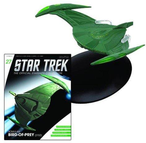 Star Trek Official Starships Collection #27: Romulanischer Bird of Prey (Raumschiff & Magazin) - Magazin Akzent