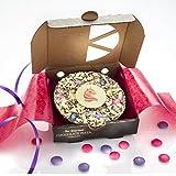 "Gourmet Chocolate Pizza Magical Unicorn Mini Belgian Chocolate Pizza 4"""