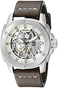 Fossil Modern Machine Analog Off-White Dial Men's Watch - ME3083