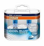 Osram 62193CBH+ Cool Hyper Plus Off Road Headlamp Bulb, Blue, 12 V, Set of 2