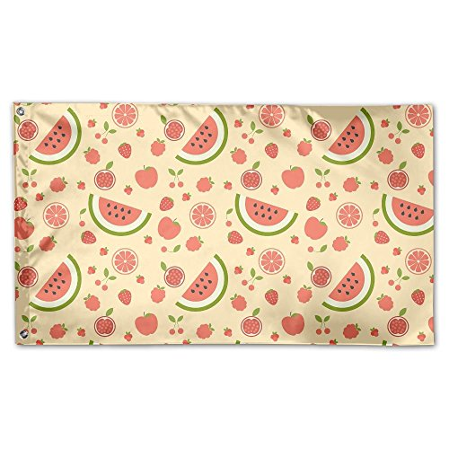 termelon Pattern Outdoor Yard Home Flag Wall Lawn Banner Polyester Flag Decoration 30x45CM ()