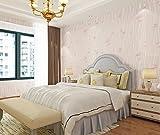 Meaosy Tapeten In Warmen Schlafzimmer Bett Hintergrundbild Romantischen Rosa Pastorale Löwenzahn Blümchen Nonwoven 3D Wallpaper