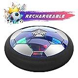 Ucradle Air Power Fußball - 2019 Wiederaufladbar Hover Ball Indoor Football mit LED, Super Spaß beim Fußballspielen in Innenräumen, Perfekt für Kinder Jungen Mädchen(AA Batterien Wird...