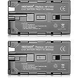 Neewer® (2paquete) 2600mAh Sony NP-F550 / 570/530 Batería de reemplazo para Sony handycams, Neewer Nanguang CN-160, CN-216, CN-126 Series y otras LED luz en-cámara Vídeo que Usando NP-F550
