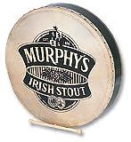 Performance Percussion PP1149 Irish Murphys - Tambor bodhrán (45,7 cm / 18 pulgadas, con baqueta y estuche)