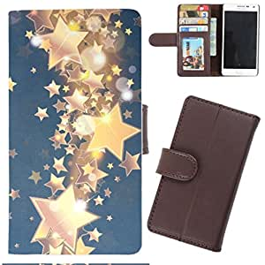 DooDa - For Asus Zenfone 2 Laser ZE550KL PU Leather Designer Fashionable Fancy Wallet Flip Case Cover Pouch With Card, ID & Cash Slots And Smooth Inner Velvet With Strong Magnetic Lock