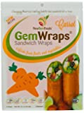 GemWraps Carrot Sandwich Wraps 6-sheets