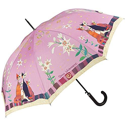 Von lilienfeld® ombrello motiv automatico donna arte gatto fiore rosina wachtmeister: giglio
