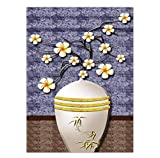 Knncch Dekoration Wand Leinwand Kunst Schlafzimmer Dekor Gemälde Öl Zeichnungen Für Wohnzimmer Blumenstrauß In Einer Vase,40X50Cm