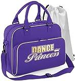 Best Solo Messenger Bag For Teachers - Ballroom Dancing - Dance Princess - Purple Review