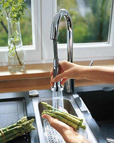 Hansgrohe – Talis S² Küchenmischer mit ausziehbarer Brause, Schwenkauslauf - 3