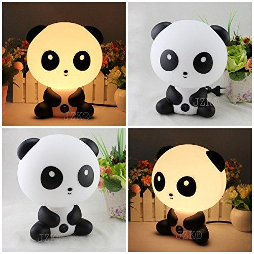 JZK® Schreibtischlampe mit Motiv der Cartoon-Figur Kungfu Panda, tragbar, Lampe
