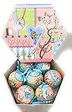 Hänger / Weihnachtskugeln Kugel Fabulous 14tlg ideal für kleine Kinder da aus Kunststoff Design Mädchen Nr 6783500