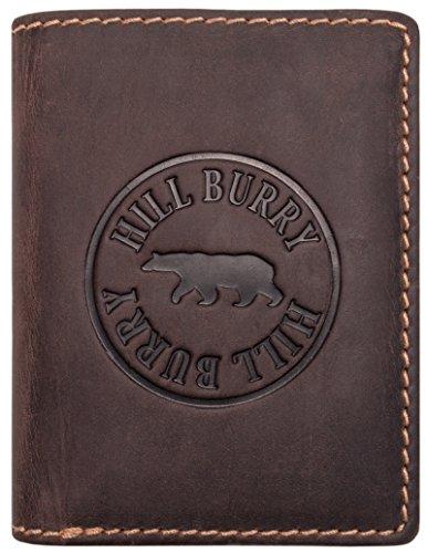 Hill Burry Cartera Cuero Hombre | Billetera - Monedero