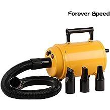 SPEED 2800W Secador Secador de Pelo Secador De Pelo Perros Secadora De Pelo Para Mascotas Animal doméstico aseo amarillo