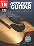 Best Guitar Instruction Books - First 15 Lessons - Acoustic Guitar: A Beginner's Review