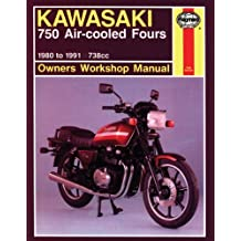 Kawasaki 750 Air-Cooled Fours Owners Workshop Manual: 1980-91