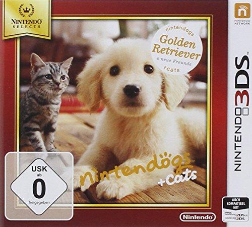 Nintendogs + cats Golden Retriever - Nintendo Selects - [3DS] -