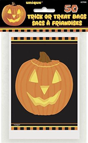 Halloween-Taschen mit leuchtendem Kürbis, ()