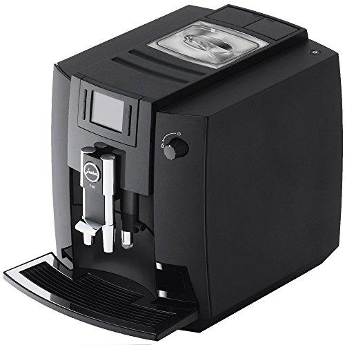 JURA E60 Independiente Totalmente automática Máquina espresso 1.9L 16tazas Negro - Cafetera (Independiente, Máquina espresso, Negro, Taza, Botones, Giratorio, TFT)