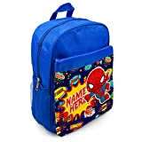Best Spider-Man Book Bags For Boys - Personalised School Bag Spiderman Superhero KS128 Boys Backpack Review