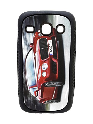 iCandy™ Rubber Printed matt soft Back Cover For Samsung Galaxy Core Duos I8262 - BENTLEY  available at amazon for Rs.109