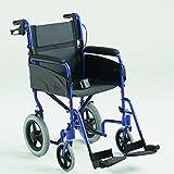 Silla de ruedas Modelo Alu Lite Invacare | ancho del asiento: 45 cm