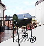 Cradifisho Grill im Freien für mehr von 5Personen, Garten Patio Grill Holzkohlegrill Regal Ofen von Krämpfe
