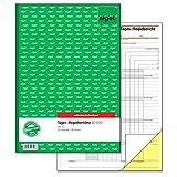 Sigel SD030 Tagesbericht/Regiebericht A4, 40 Blatt, selbstdurchschreibend, 1 Stück