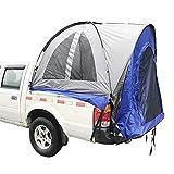 Qnlly Pickup Truck Zelt Travel Camping, Build Leisure Zelt, wasserdicht und schwer entflammbar Zelt, Dach Auto Zelt wasserdicht gelb/grau,1.6M