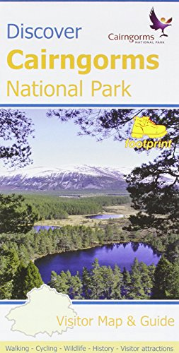 Discover Cairngorms National Park: Visitor Map and Guide (Footprint Maps)
