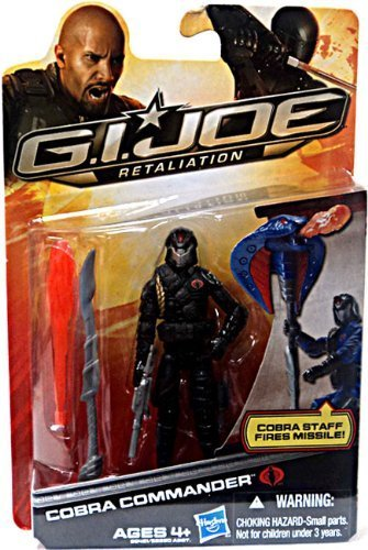 Action Figure Cobra Commander Black Outfit 3.75 Inch by Hasbro ()