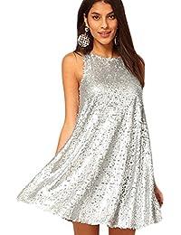 Amazon.it  Vestiti da ballo - Argento   Gonne   Donna  Abbigliamento 7b0e8689efe