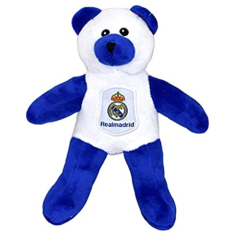 Real Madrid CF Official Contrast Football Crest Teddy Bear (One