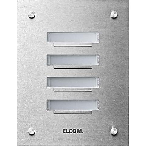 Elcom Up de placa de timbre KVM de 6/16taster, de 1fila, ED esta timbre Tableau 4250111846370