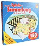 Idena 6102589 - Spielesammlung mit 150 Spielmöglichkeiten